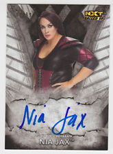 NIA JAX 2016 Topps WWE NXT Called Up Auto #D /99 Online Exclusive QTY