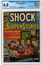 Shock SuspenStories #1 CGC 6.0 EC 1952 Bill Gaines! Key Golden Horror! L7 213 cm