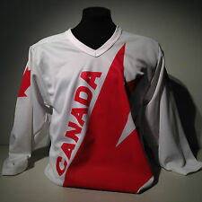 National Team Canada Cup Nike Hockey White Jersey 1976-1987-91 Vintage Throwback
