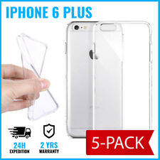 5IN1 Transparent 0.3mm Gel Clear Case Cover Cas Etui Coque TPU For iPhone 6 Plus