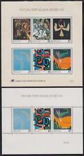 Portugal Block 67 - 68 **, Kunst ART 1989, postfrisch, MNH