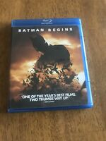 Batman Begins (Blu-ray Disc, 2008) Christian Bale Like New
