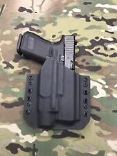 Black Kydex Light Bearing Holster Glock 19 GEN5 Streamlight TLR-3 / TLR3