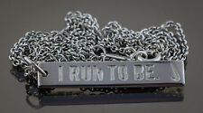 Tiffany & Co, 2010 Nike Woman Marathon, Sterling Silver Pendant and Chain