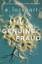 Genuine Fraud by E. Lockhart  9781471406621