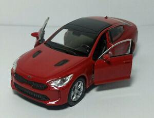 KIA STINGER model metal car 1:36. NEX WELLY