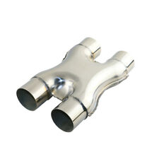 """2.5"""" universal stainless steel exhaust X-pipe for exhaust pipe system"""