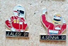 pin's pins A.Senna et J.Alesi 2 pin's