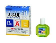 Lion Eye Drops Smile 40 EX Vitamin 15mL Japan