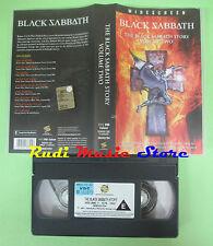 VHS BLACK SABBATH The story volume two 2002 SANCTUARY SDEU3704 no cd mc dvd(VM1)