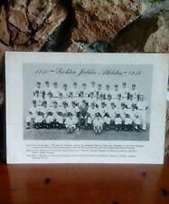 1950 Golden Jubilee Athletics Team Photograph Mickey Cochrane