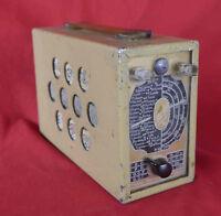 Rare  poste récepteur radio à tubes « Radio StarStarlet 30»  fabriqué à Nice