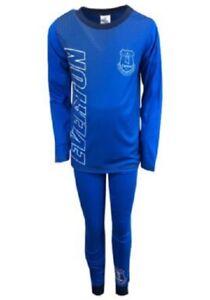 Boys Official Everton FC EFC Pyjamas Pyjamas Pjs Kids Children's 4/5 to 11/12