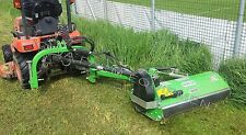 "Flail Ditch Bank Mower, Peruzzo Fox Cross 1200: 47""Cut, 20-40HP, AdjustOnTheFly!"