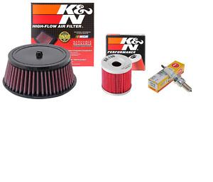 Premium Tune Up Kit K&N Air + Oil Filter NGK CR7E Plug For Suzuki DRZ 400 E S SM