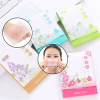 100PCS/Pack Clean Clear Oil absorbing sheet Oil Control Film Blotting Paper BSE