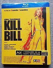 KILL BILL Blu ray Steelbook  ( NEW )