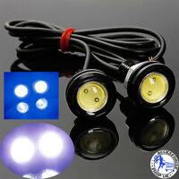 12V Car Motorcycle 10W LED Eagle Eye Daytime Running DRL Tail Light Backup Lamp