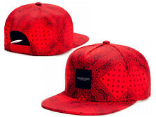 Men's Red CAYLER SONS Snapback Adjustable Baseball Cap Hip-hop street Bboy Hat