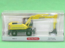 1:87 Wiking 066103 Mobilbagger (Atlas 2205 M) - zinkgelb Blitzversand DHL-Paket