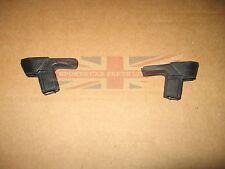 Pair of New Vent Window Corner Block Seals for MGB 1973-80 MG Midget 1973-1980