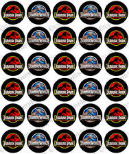 30 x Jurassic Park World Fun Party Edible Rice Wafer Paper Cupcake Toppers