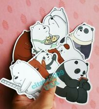 NEW WE BEAR BEARS STICKERS CARTOON NETWORK PARTY FAVORS SET OF 9 STICKERS #2