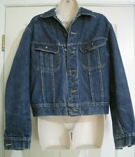 Vintage LEE Rider 60's 101-J Sanforized Union Made USA Jean Jacket 42R