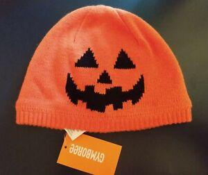 Gymboree Halloween Pumpkin Hat Size 4T-5T NEW!