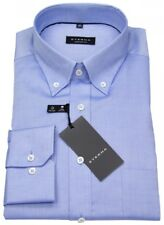 Eterna Herren Hemd Comfort Fit Button Down Oxford blau 8100 E194 12