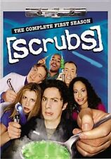 Scrubs The Complete First Season 3 Discs (2005 DVD New)
