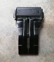 CLASP BUCKLE 24mm FOR HUBLOT BIG BANG WRIST WATCH, PURE BACK COLOR. NO RESERVE.