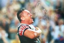 Signed Jared Waerea Hargreaves Poster Photo - Sydney Roosters + *Certificate*