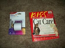 Lot Of 2: Cat No Scratch Tape & Cat Care by Steve Duno and Christopher Walken