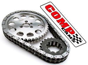 Comp Cams 7100 Adj Billet Double Roller Timing Set for Chevrolet SBC 305 350 400