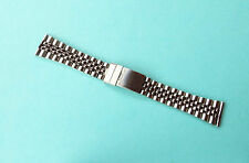 Jubilee Stainless Steel watch strap 22mm Straight Ends
