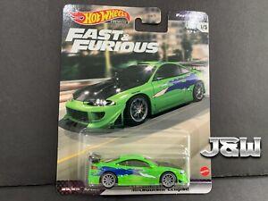Hot Wheels Mitsubishi Eclipse Fast And Furious GBW75-956L 1/64