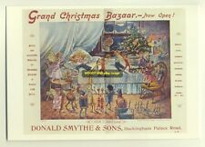 ad1771 - Donald Smythe & Sons Grand Christmans Bazaar - modern advert postcard