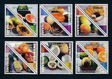 [SU1056] Suriname Surinam 2000 Tropical fruit Triangles  MNH