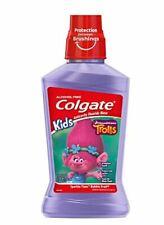 Colgate Kids Trolls Mouthwash 16.9 fl oz Sparkle Time Bubble Fruit Flavor