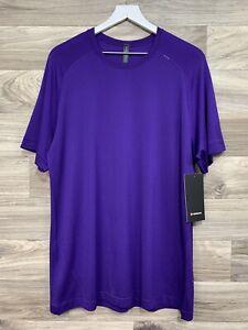 Lululemon Metal Vent Tech Short Sleeve Size Large Court Purple CRPL/CRPL 76058