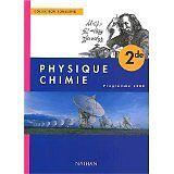 Tomasino - Physique-chimie, seconde, élève, édition 2000 - 2000 - Broché