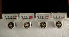 Vintage mini VU meter  made USSR NOS TESTED Lot of 10 pcs.