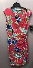 Ralph Lauren Women's Floral Sheath Dress Size 12 NWT MSRP $134.00