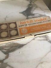 Vintage Metal Ravioli MakerPress Pasta Dough Mold Vitantonio