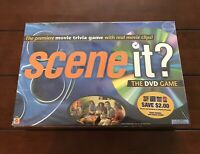 Scene It? The Premiere Movie Trivia DVD Game With Real Movie Clips NEW