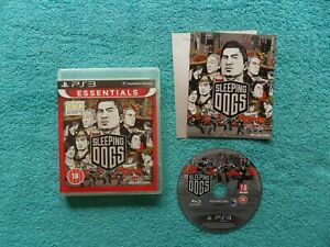 SLEEPING DOGS - ps3 / sony playstation 3