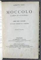 Libri ragazzi A. Cioci - Moccolo l'amico di Lucignolo - Disegni di Chiostri 1901