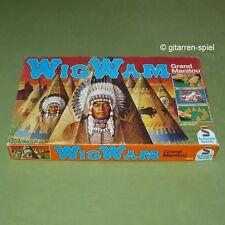 Wigwam - Grand Manitou - Vintage-Brettspiel ab 5 Jahren Schmidt Spiele Rar Top!