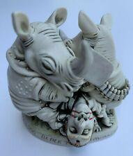 New listing 2000 Harmony Kingdom Nose Bleed Rhinoceros Black Box Series Artist Proof